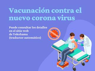 Vacunación contra el nuevo corona virus