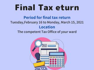 Final Tax Return