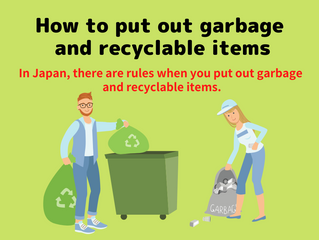 How to put out garbage and recyclable items.
