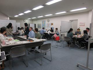YOKE日本語教室の様子