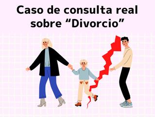 """Caso de consulta real sobre """"Divorcio"""""""