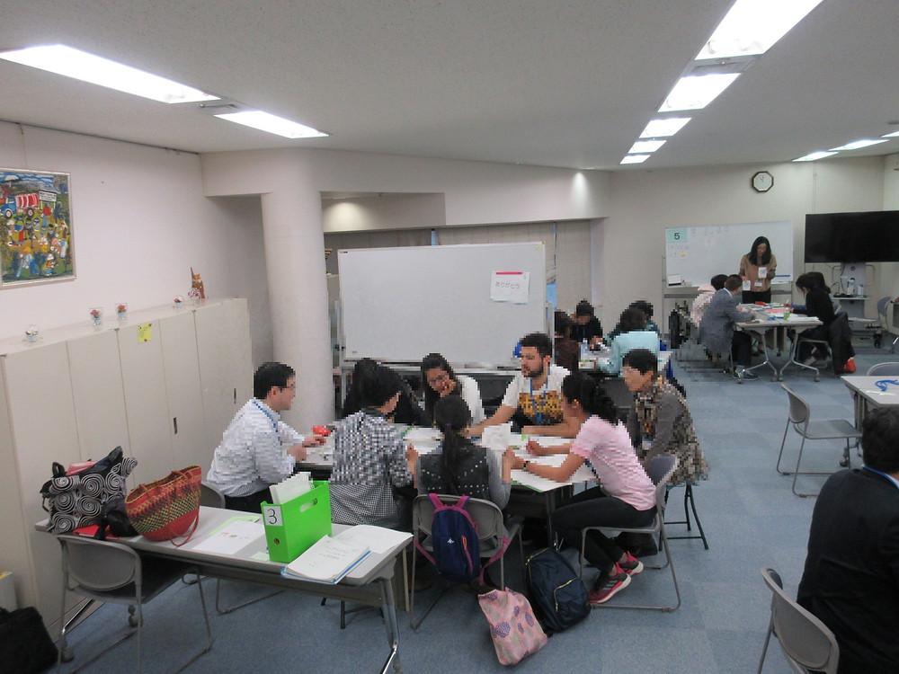 企業のみなさま日本語教室ご見学の様子
