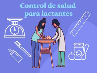 Control de salud para lactantes