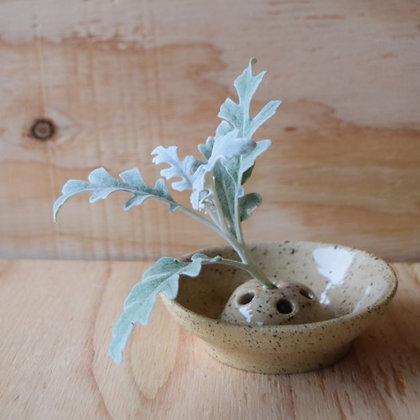 Simple Floral Frog Dish
