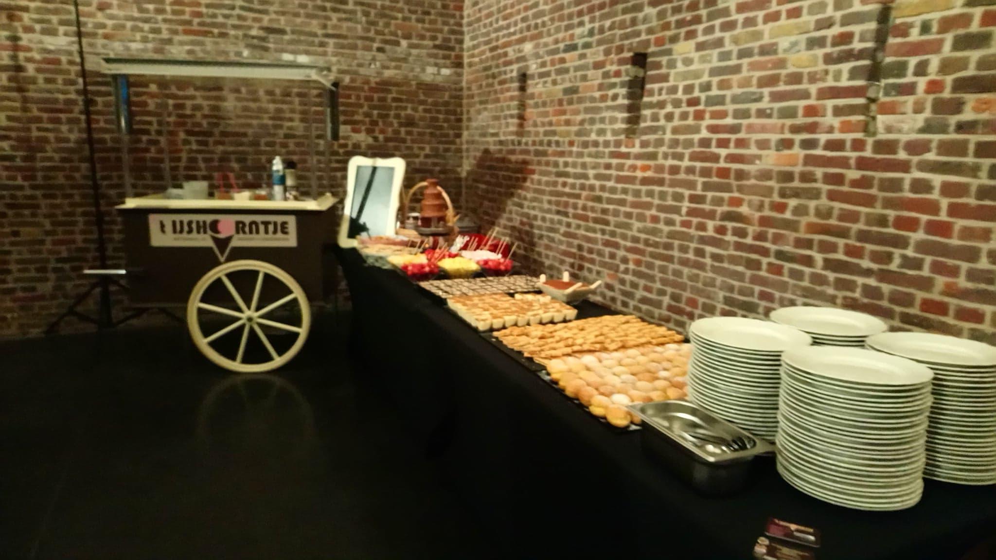 Dessertbuffet de luxe
