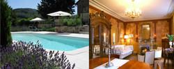 Grote salon Chateau Arfeuilles