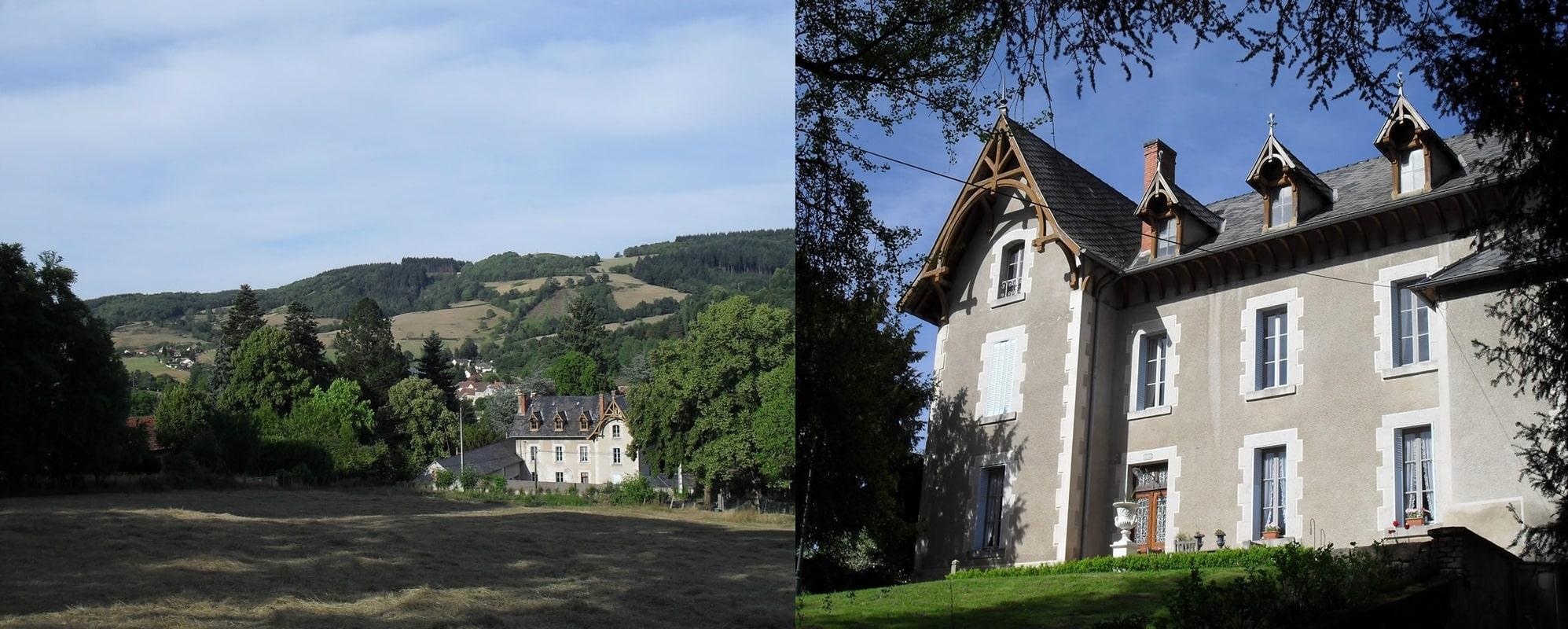 Chateau Arfeuilles in zijn omgeving