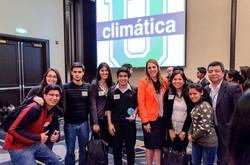 Estudiantes comprometidos por el clima!