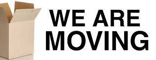 WE ARE MOVING! Nos mudamos!