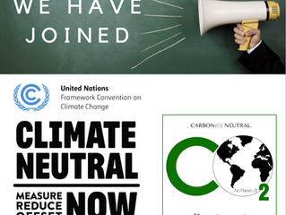No Planeta B joins CLIMATE NEUTRAL NOW