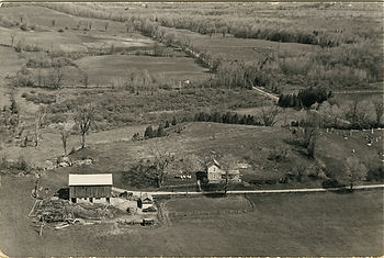 Historical photo of the nursery location in 1967