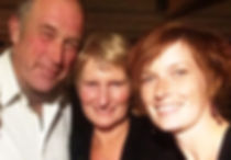 Ted, Sandy and Melissa Spearing family photo in 2014