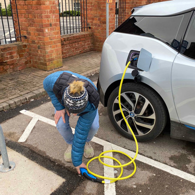 Duku undertake research into EV charging accessibility.