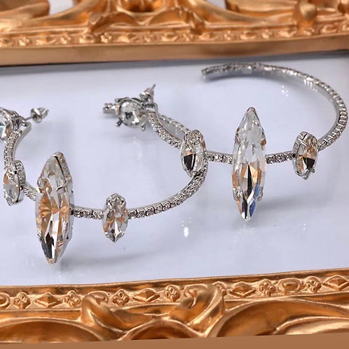 Diamond Princess Earrings