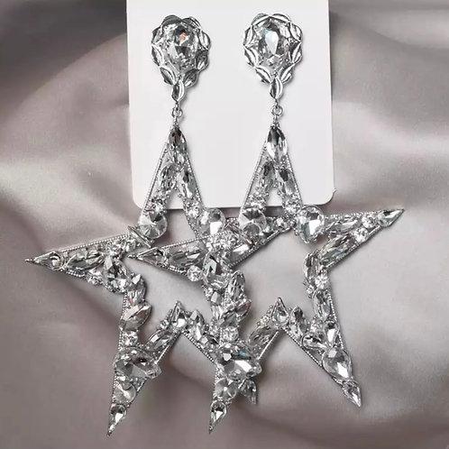 Jumbo Star Earrings