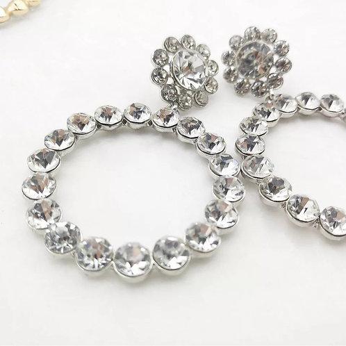 Prissy Earrings Crystal