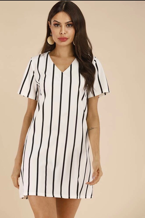 Pennys Pin-Striped Dress