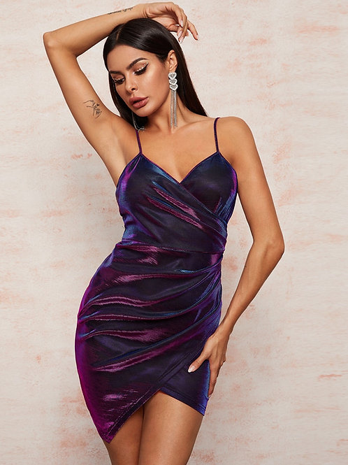 Halo Wrap Dress