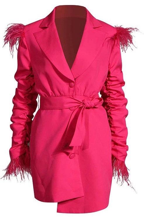 Bossy Blazer Dress