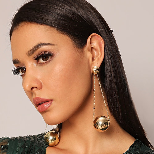 Drops of Gold Earrings