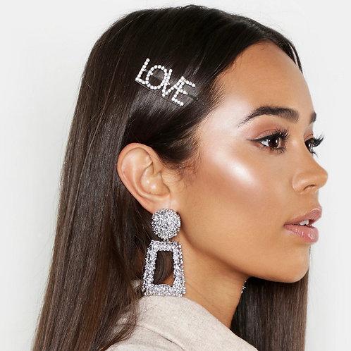 Silver Kristy Earrings