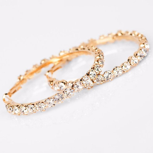 Crystal Jenny Hoops GOLD (small)