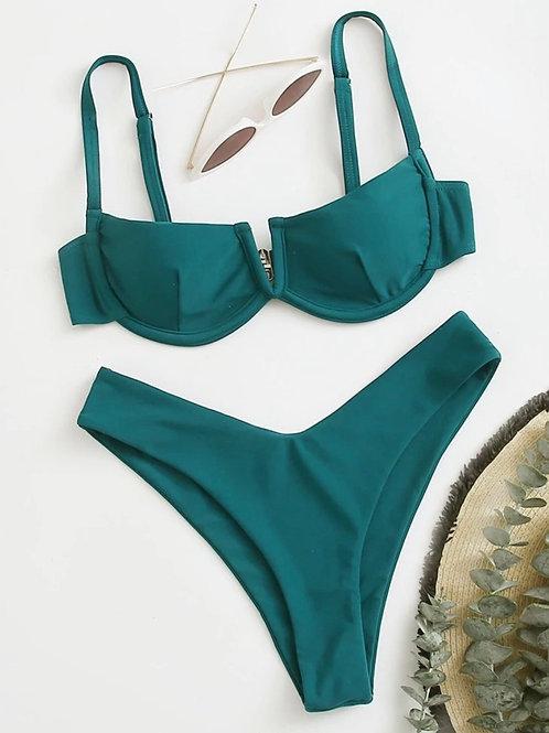 Teeny Teal Bikini