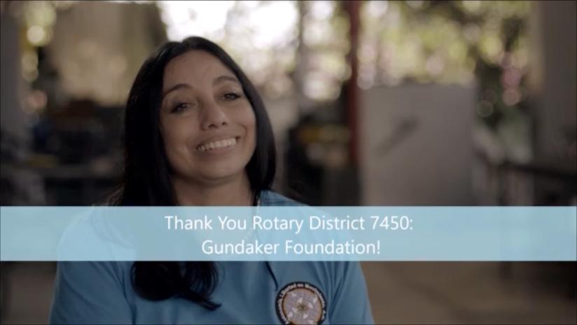 Mayra Thanks Rotary