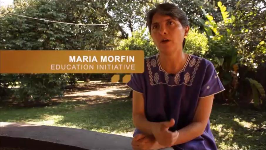 Maria Morfin-Education Initiative