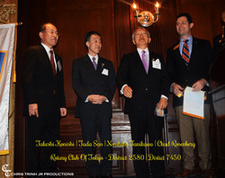 Rotary Club of Tokyo at SASY Awards