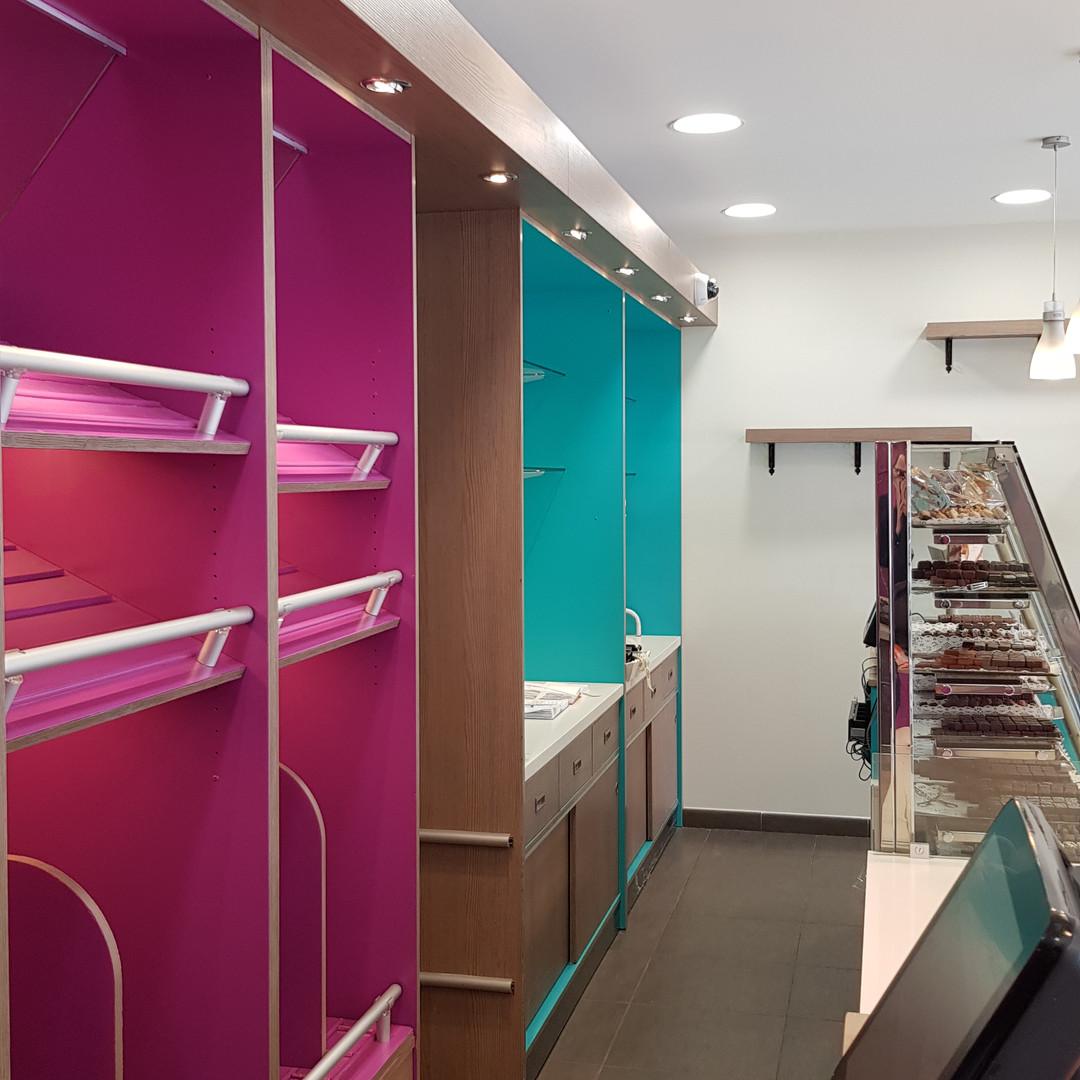 Eclairage pour mise en valeur d'espaces de vente