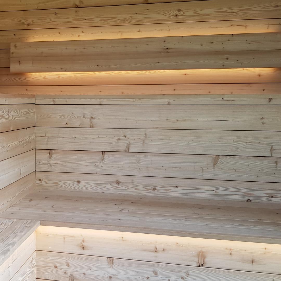 Eclairage de Sauna