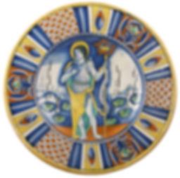 Deruta (Italie) Saint Jean-Baptiste. Première moitié du XVIe siècle.