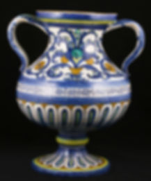 Deruta (Italy), a baluster vase. First third of te 16th century.
