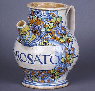 Deruta (Italie) chevrette, vers 1540-1550.