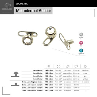 Microdermal Anchor