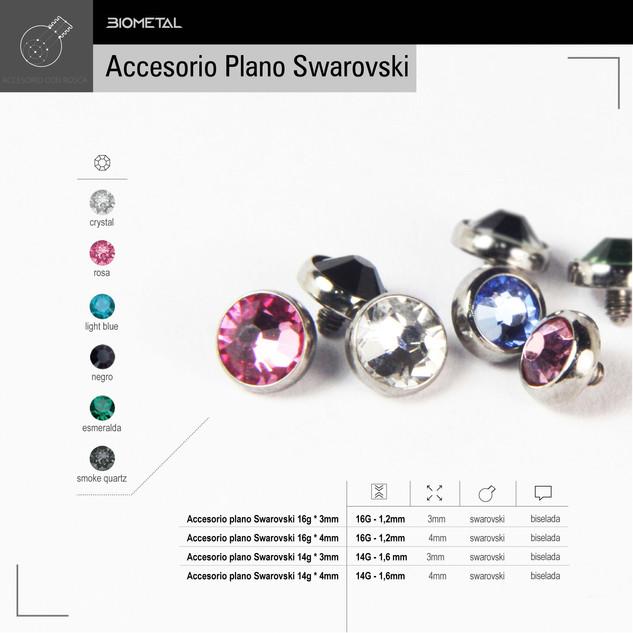 Accesorio plano Swarovski