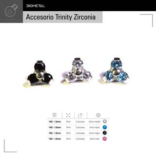 Accesorio Trinity zirconia