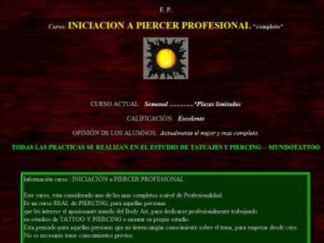 PELIGRO!!! CURSOS DE DE PIERCING EXPRESS