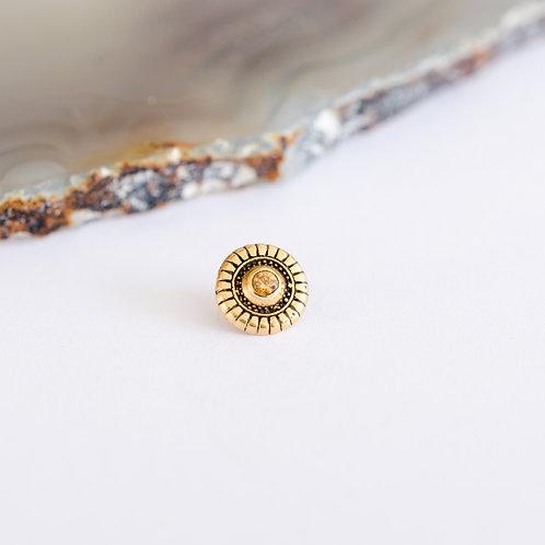 Circulo ornamental con gema