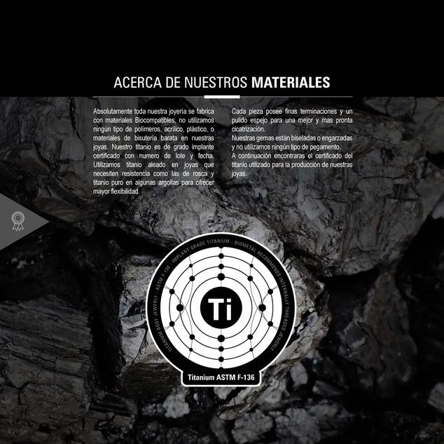 nuestros materiales