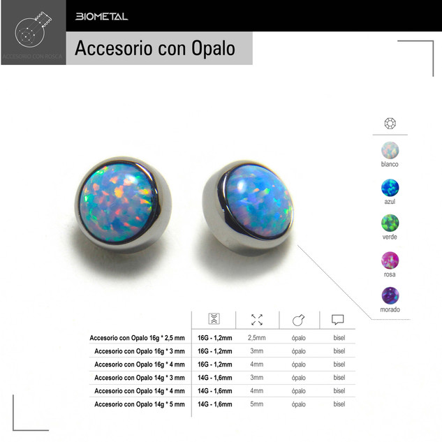 Accesorio con Opalo