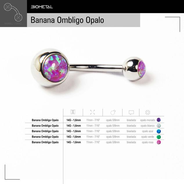 Banana Ombligo Opalo
