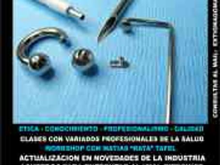 Seminarios Educativos para Artistas del Body Piercing, Atacama – Chile 2011