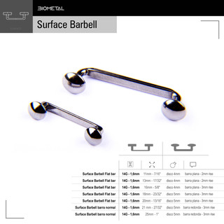 Surface Barbell