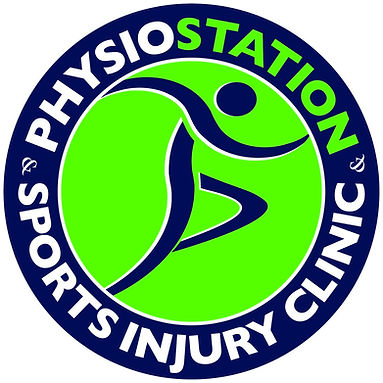 Physiostation Sports Injury Clinic Logo.