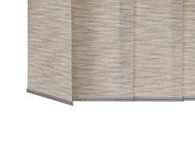 Hunter Douglas vertical blinds.