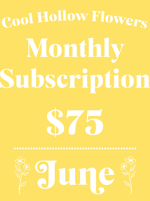 June Monthly Subscription
