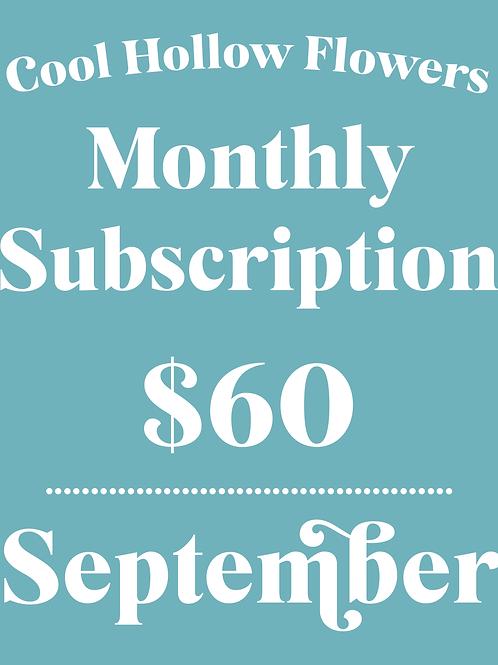 September Subscription