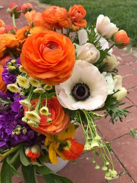ranunculus and anemone